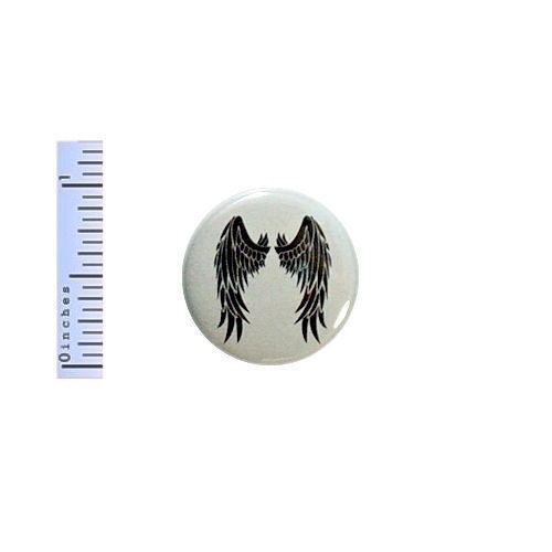 Black-Anatomical-Wings-Button-Pin-Angel-Cherub-Tattoo-Style-Backpack-Pinback-1-034