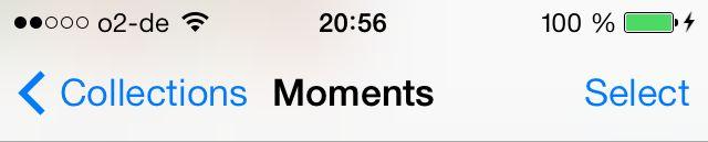iOS 7 Status Bar