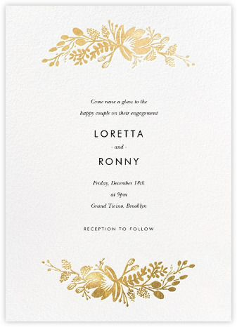 10 best Engagement Party Invitations images on Pinterest - create engagement invitation card online free