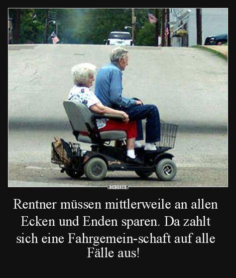 Rentner müssen mittlerweile an allen Ecken und Enden sparen..
