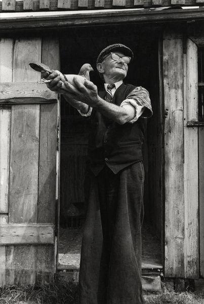 By Sirkka-Liisa Konttinen, Jimmy Dodds, Dalton Street railway pigeon loft, Albion Row Allotments, June 1980
