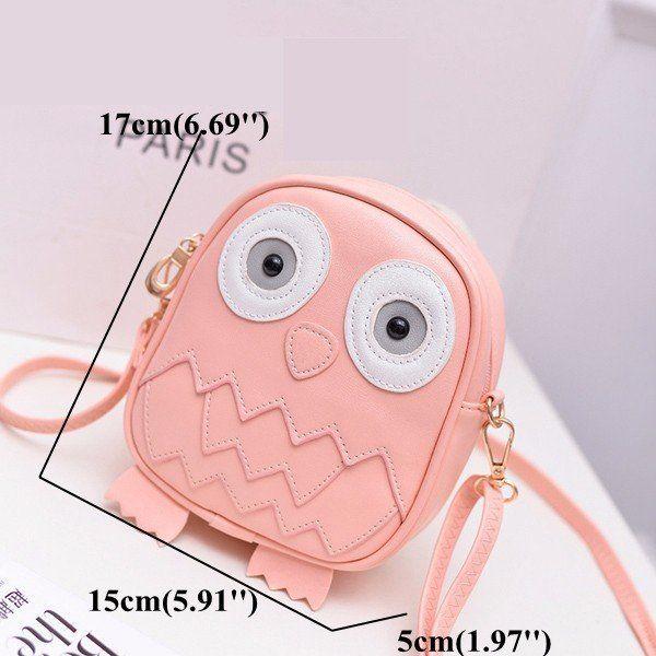 Children Cute Cartoon Lovely Bird Shoulder Bags Crossbody Bags