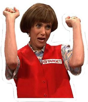 Kristen Wiig Target Lady SNL Cutout