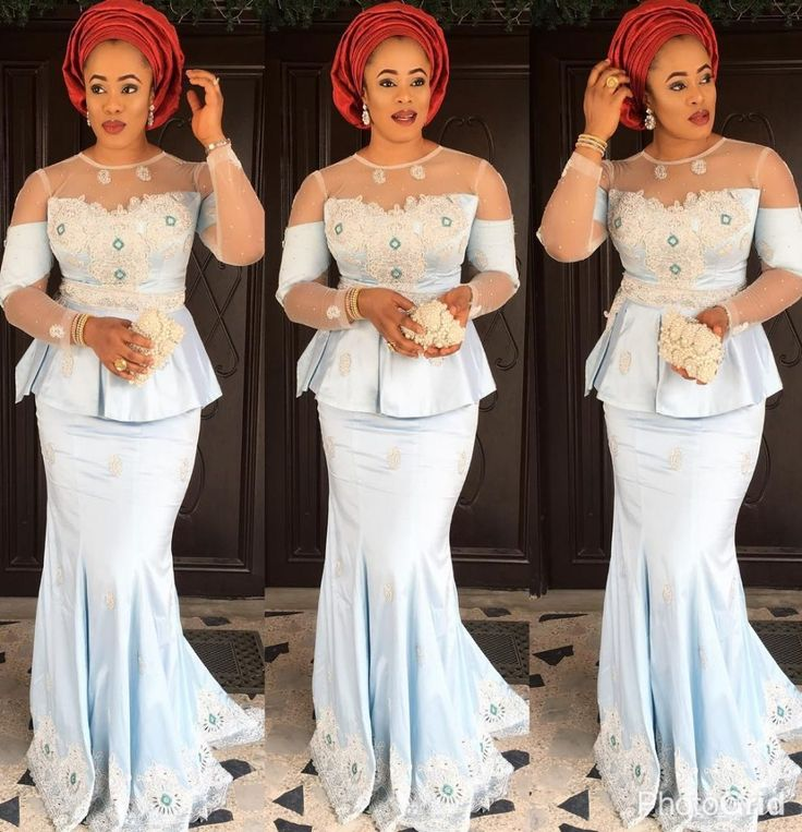 If there's one thing we can't get enough of its Nigerian fashionistas nailing their own personal style in timeless Aso-Ebi styles.Each week we bring you our Aso-Ebi style pick for you to draw inspiration from. Whether it's a big splashy event, or just an intimate wedding...