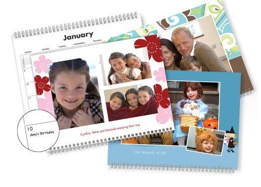Shutterfly: Free Personalized Calendar & 50 Free Prints