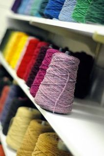 Weaving yarn...also great prices on classes for weaving