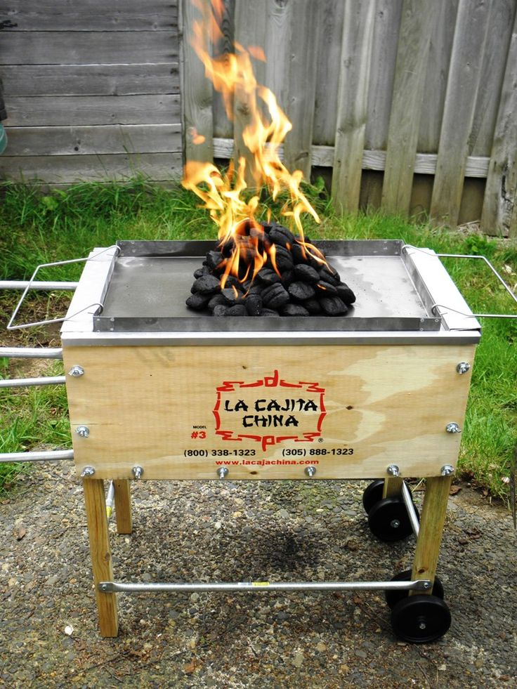 Luau Pork Shoulders In La Caja China Roasting Box
