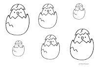 De eitjes. Waar moeten ze in?