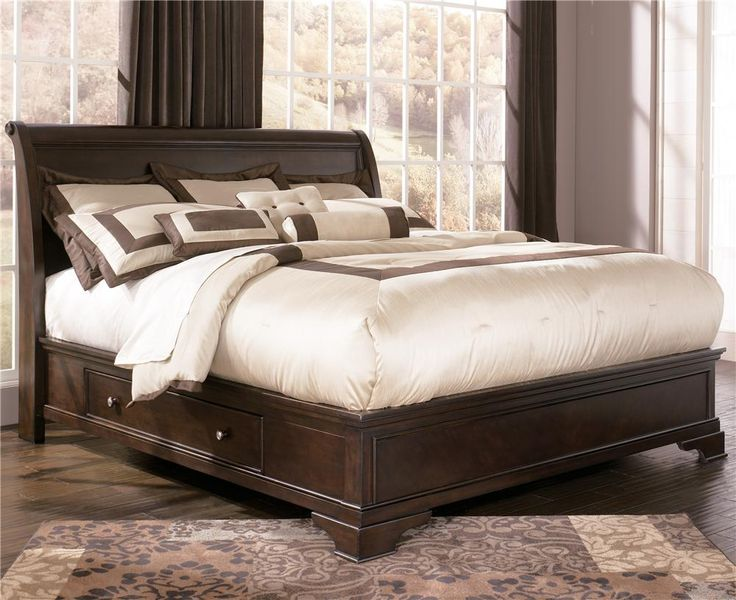 Leighton King Platform Bed With Underbed Storage By Ashley Millennium Bedroom Pinterest