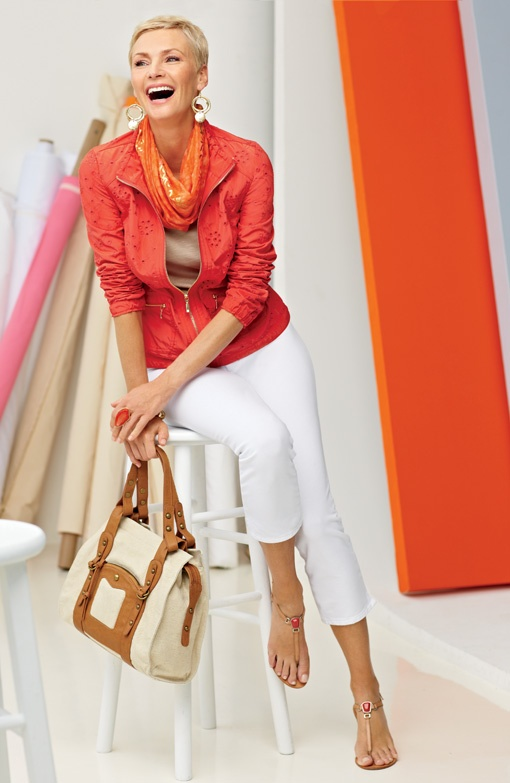 Zenergy Eyelet Jacket #chicos  - great outfit for sightseeing