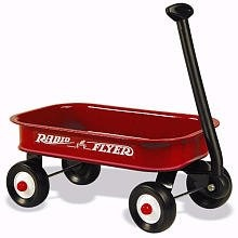 mini wagons for decorations. Baby Boy centerpiece container 4 fresh flowers?! I think so.