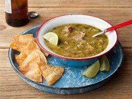 Chili Verde (Colorado Green Chili) : Recipes : Cooking Channel