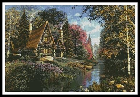 Fairytale Cottage Pattern