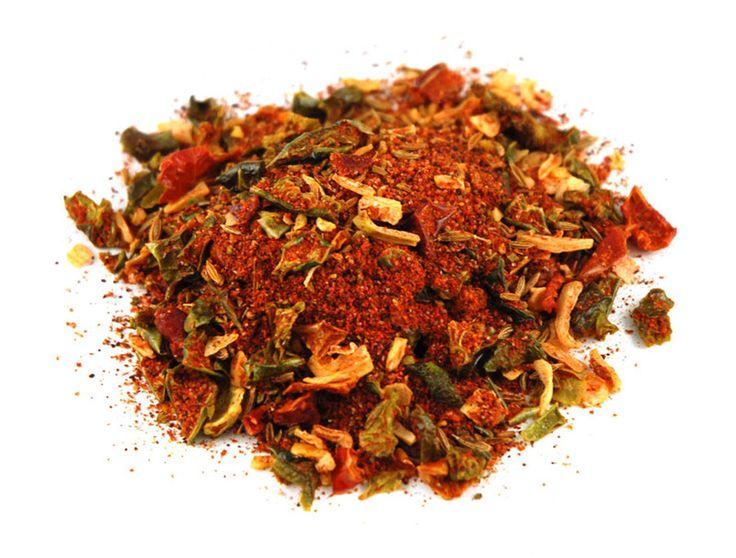 MEDITERRANEAN SEASONING - 4tbsp. Dried Parsley (crushed) - 4tsp. Dried Onion Flakes - 2tsp. Dried Basil (crushed) - 1tsp. Ground Oregano - 1tsp. Ground Thyme - 1tsp. Garlic Powder - 1tsp. Sea Salt - 1/2tsp. Black Pepper