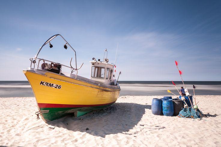 Fishing harbor in Krynica Morska by Daniel Ciesielski on 500px