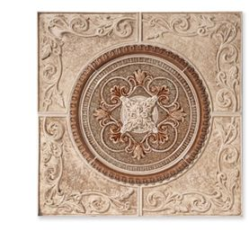 Montrachet Medallion - Sonoma Tilemakers Kitchen wall at cooktop