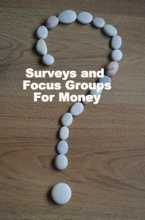 The ultimate guide for using surveys and focus groups for side income.