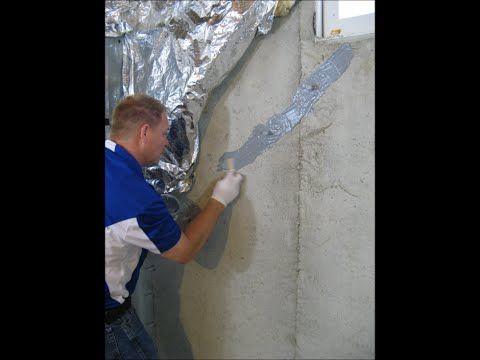 Fresh Basement Crack Repair Kit