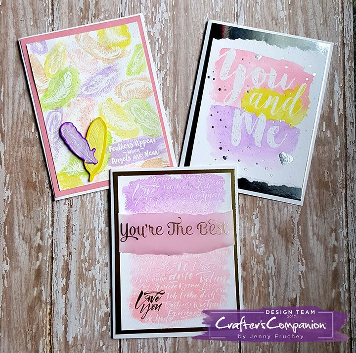 New Watercolor pads from Crafter's Companion. #crafterscompanion #hsn #hsncrafts #jenscraftyplace