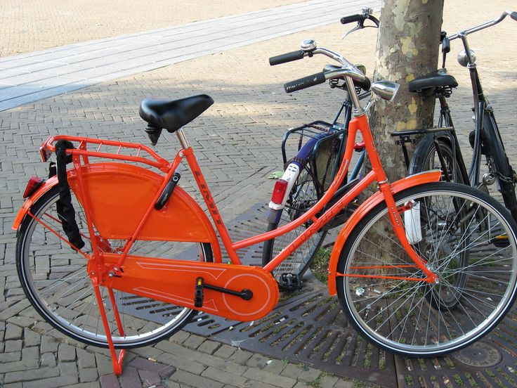 Everyone from the Netherlands owns more than one bike.