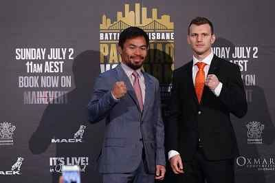 How To Watch Manny Pacquiao vs Jeff Horn Live stream Online