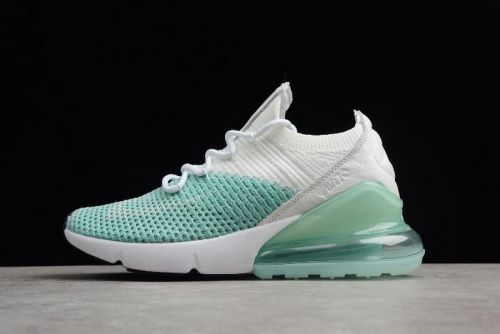591ef3e91d New Nike WMNS Air Max 270 Flyknit Igloo White Clear Emerald-Black  AH6803-301 For Sale - ishoesdesign