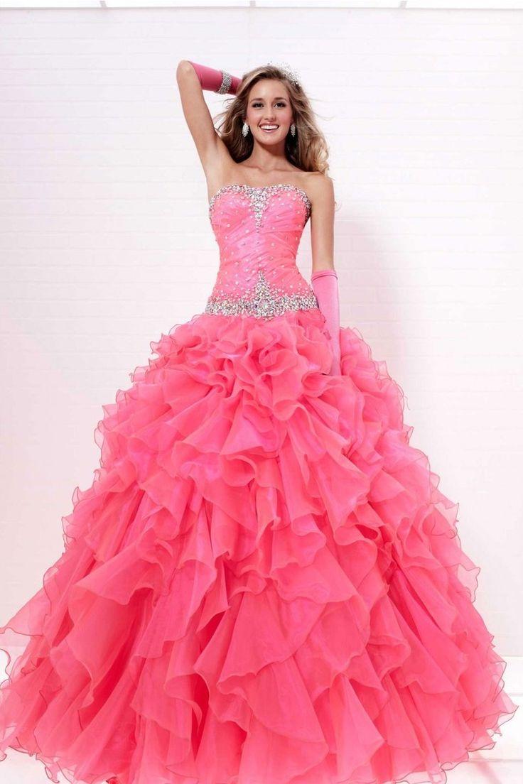 166 best vestidos largos pegado images on Pinterest | Casual gowns ...