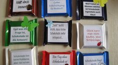 Knightsport packaged / chocolate sayings