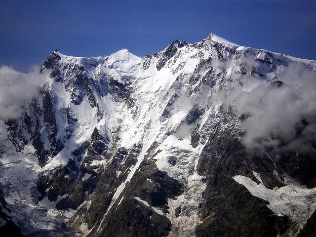 Monte Rosa: Nordend, Alpes, Italy