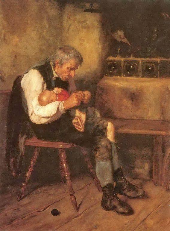 Παππούς και εγγονός ΙΙ (1882)