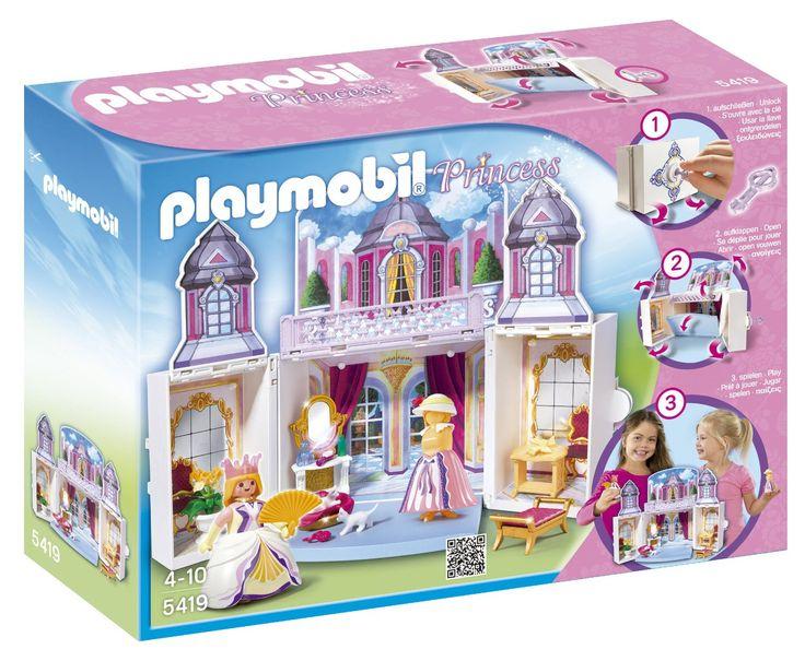 Playmobil Princess 5419 My Secret Play Box Princess Castle: Amazon.co.uk: Toys & Games