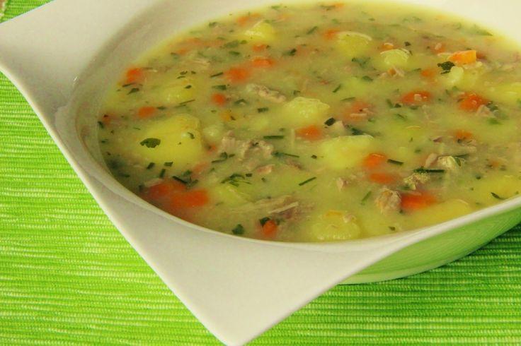 V kuchyni vždy otevřeno ...: Bramborová kuřecí polévka