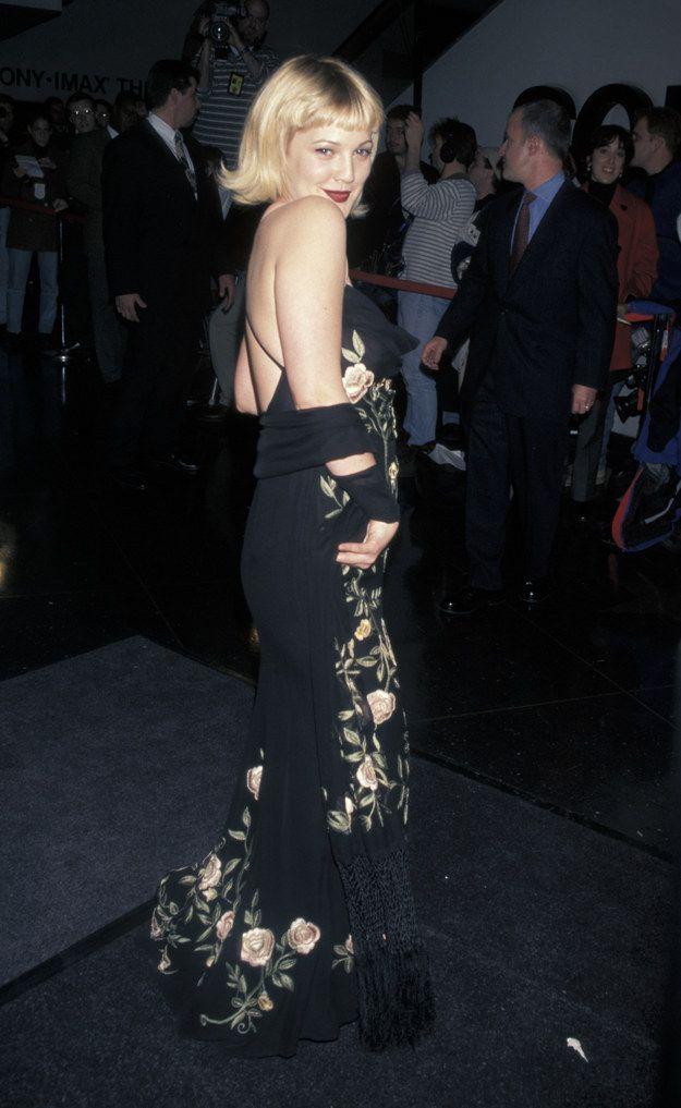 Prom dress 90s 5 man