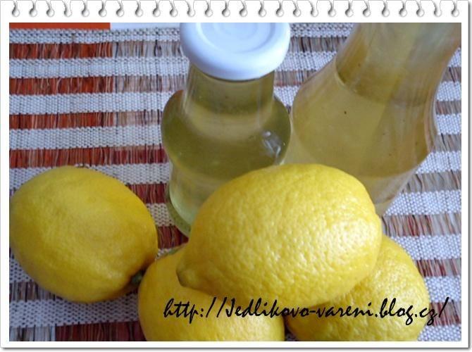 Jedlíkovo vaření: Citronový sirup