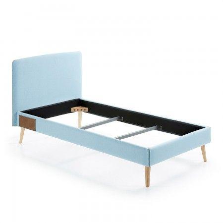Lydia bed La Forma 90x190cm lichtblauw | Musthaves verzendt gratis