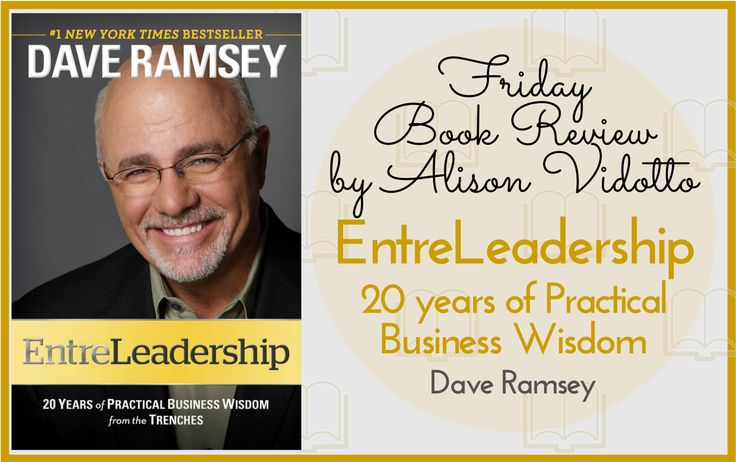 This book begins by clearly defining the term EntreLeadership, for those who have not heard the word before, it's basically the necessity to use a mix of Entrepreneur and Leadership skills to succeed in business. #BookReview http://www.pushbusinesstraining.com/entreleadership-dave-ramsey/