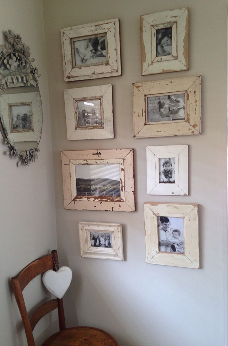 Family frames gallery wall