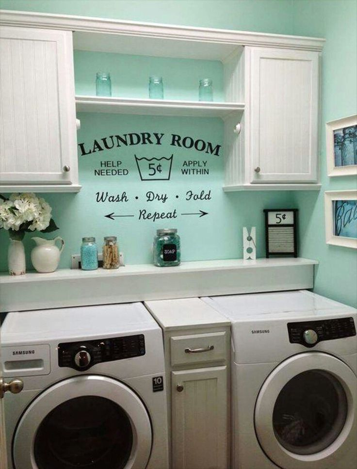 Laundry Room Decor (pic Only)