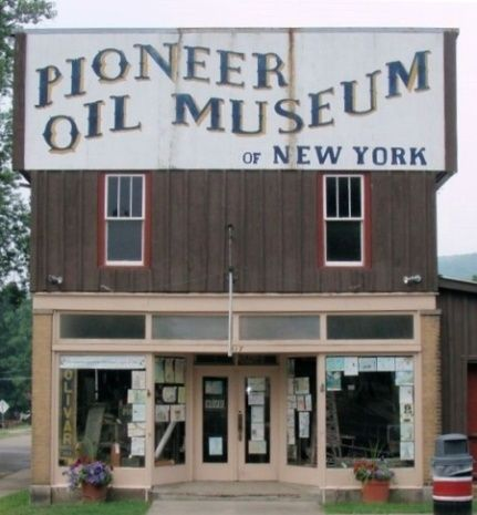Pioneer Oil Museum, Bolivar, NY - someday I am actually going inside instead of just driving by