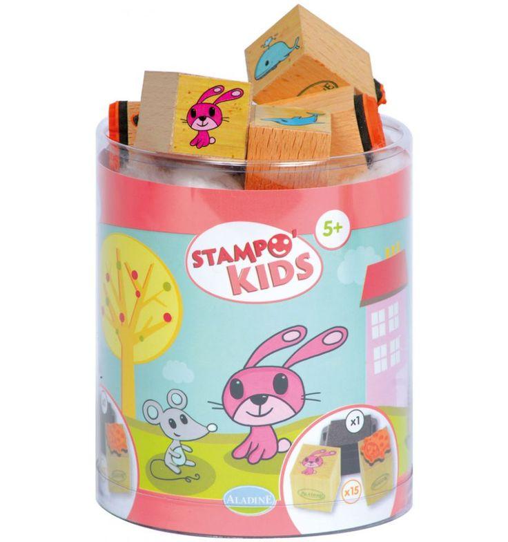 Tampons Stampo kids lili & ses amis - Aladine