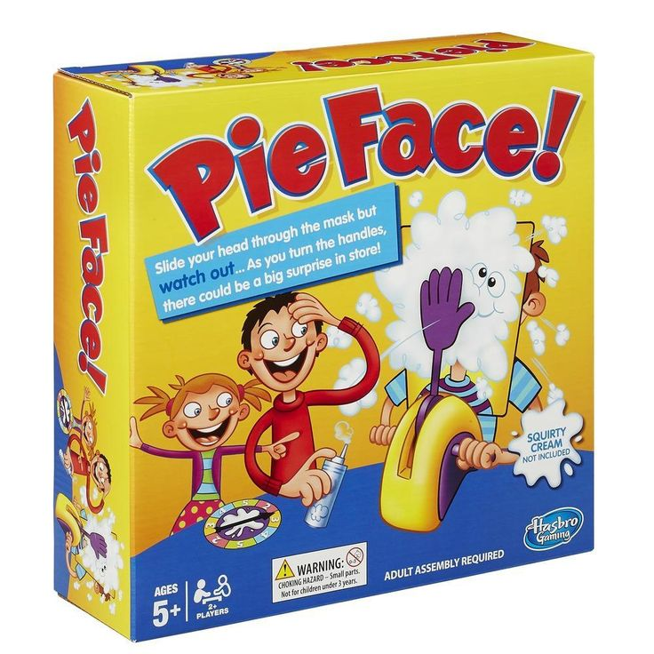 Pie Face Game - What a PERFECT gift idea for the whole family!!!