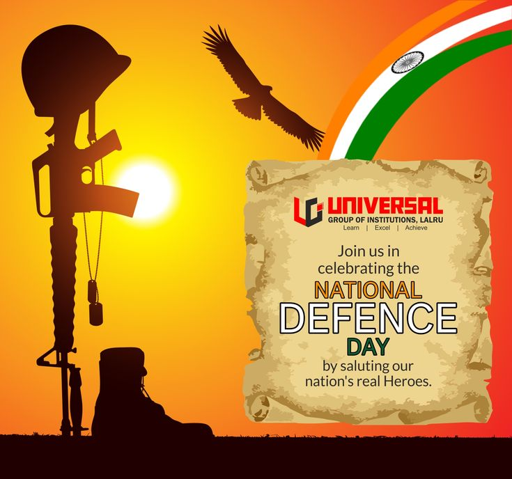 National Defence Day is formed by combining the cadets of the three services- The Army, Navy and Air force.The National Defence Academy was formally commissioned on 7 December 1954, with an inauguration ceremony held on 16 January 1955. Prime Minister of India, Jawaharlal Nehru on 6 October 1949 laid the foundation stone for the Academy with the objectives to provide the requisite educational standard ,acquire mental and physical qualities, essential as officers of the fighting services.
