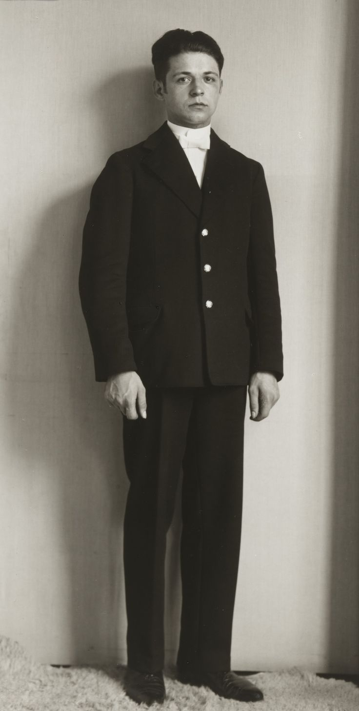 """August Sander. Servant in a Grand Household. c. 1928. Gelatin silver print. 10 3/16 x 7 3/8"""" (25.8 x 18.7 cm). Acquired through the generosity of the family of AugustSander. 472.2015.541. © 2016 Die Photographische Sammlung / SK Stiftung Kultur - August Sander Archiv, Cologne / ARS, NY. Photography"""