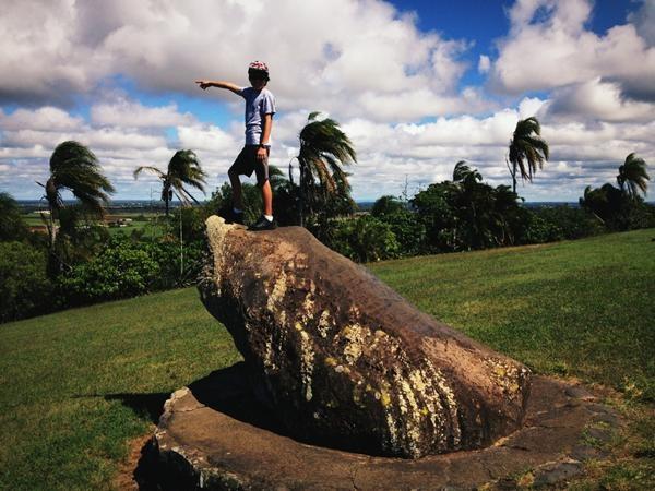"""Bargara, that way"". The Hummock Lookout. Bundaberg (QLD) Australia. @SeeAustralia"