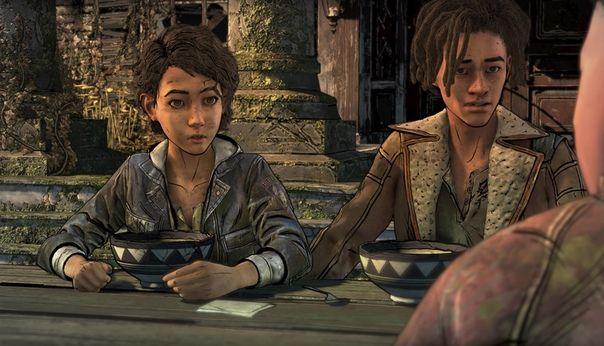 Essa Parte E Mto Boa Sksksk Walking Dead Game The Walking Dead Telltale The Walking Dead