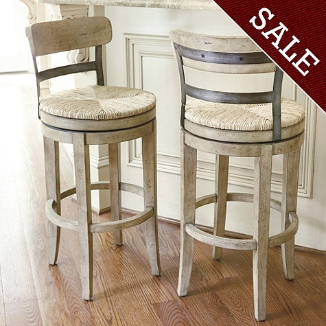 Beautiful Marguerite Barstool From Ballard Designs. Rustic And Industrial Whitewashed  Love. Iu0027d Rather Nice Design