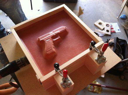 Homemade Vacuum Press Table