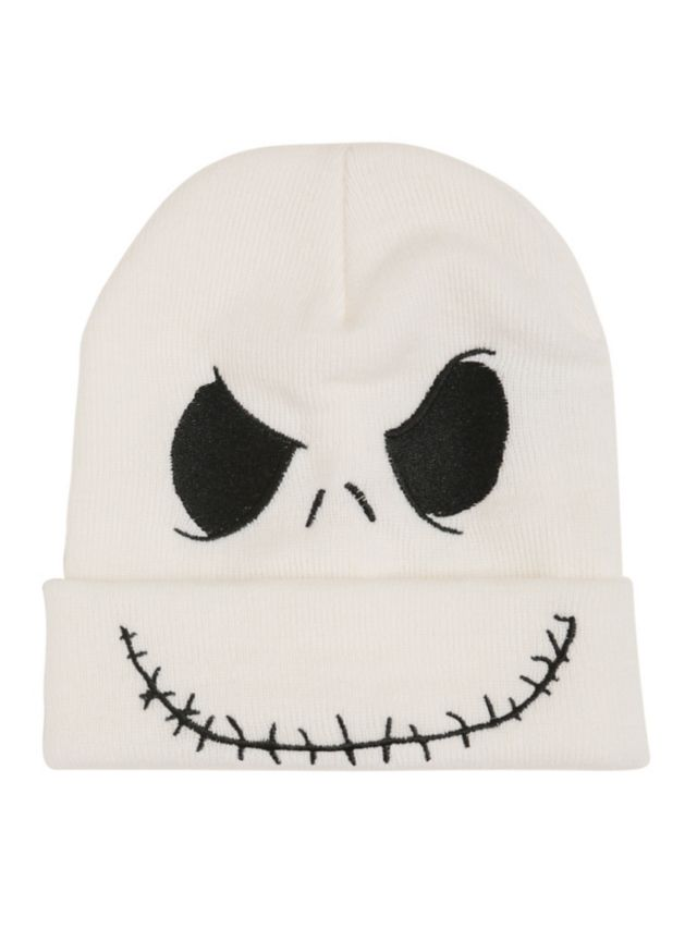 The Nightmare Before Christmas Jack Beanie | Hot Topic. OMG I MIGHT DIE IF I DONT HAVE THIS BEANIE!!!!!!!!!!!!!!!!!!