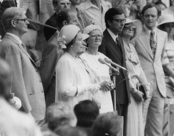 The Opening Ceremony: Through The Years - Slideshows | NBC Olympics  Queen Elizabeth II opening the 1976 Montreal Olympics