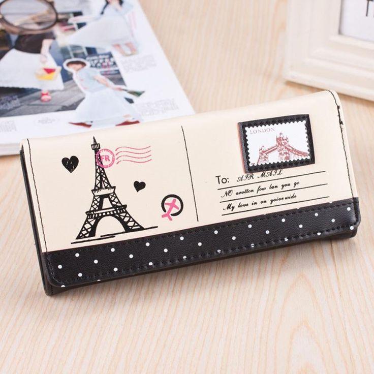 $4.42 (Buy here: https://alitems.com/g/1e8d114494ebda23ff8b16525dc3e8/?i=5&ulp=https%3A%2F%2Fwww.aliexpress.com%2Fitem%2FPopular-Women-s-Girls-Eiffel-Tower-Stamp-Coin-Purse-womens-wallets-Card-Case-Handbag-sac-femme%2F32641541609.html ) Popular!!Women's Girls Eiffel Tower Stamp Coin Purse womens wallets Card Case Handbag sac femme women money bag 2016 passport for just $4.42